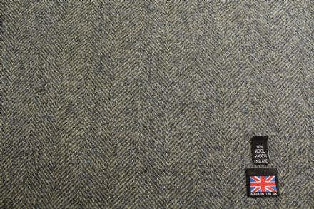 Heavyweight Wool Herringbone Tweed Coating Fabric | BZ61